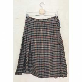 Czarna długa spódnica na guziki Vintage Zona i Kowalski